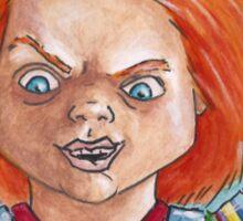 Hi, I'm Chucky. Wanna play? Sticker