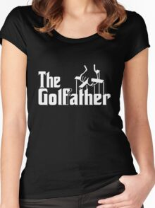 The Golf Father Women's Fitted Scoop T-Shirt
