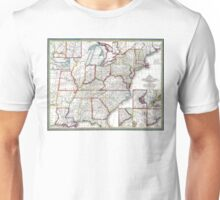 United States - Mitchell's Travellers guide - 1835 Unisex T-Shirt