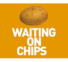 Waiting On Chips Photographic Print
