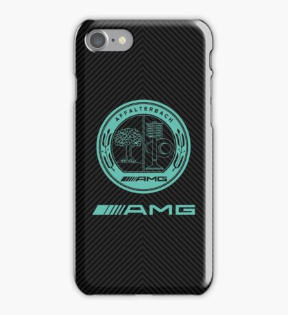 AMG carbon case iPhone Case/Skin