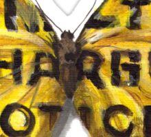 Urban Jungle: Butterfly  Sticker