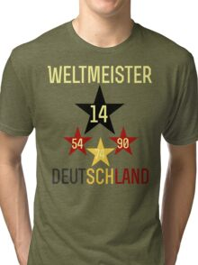 Weltmeister Deutschland Tri-blend T-Shirt