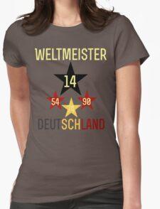 Weltmeister Deutschland Womens Fitted T-Shirt