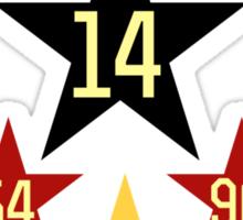 Weltmeister Deutschland Sticker