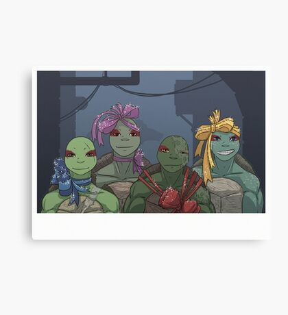 All wraped for Xmas Canvas Print