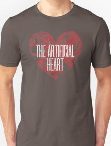 The Artificial Heart Logo - White & Red T-Shirt