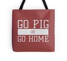 Go Pig or Go Home Tote Bag