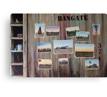Bangate - Always Delivers Canvas Print