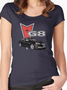 G8 Black Women's Fitted Scoop T-Shirt