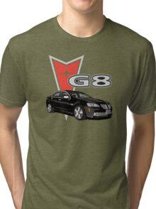 G8 Black Tri-blend T-Shirt
