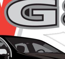 G8 Black Sticker