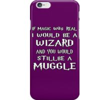Condescending Wizard iPhone Case/Skin