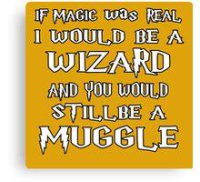 Condescending Wizard Canvas Print