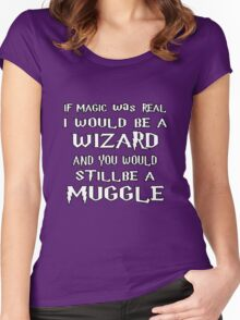 Condescending Wizard Women's Fitted Scoop T-Shirt