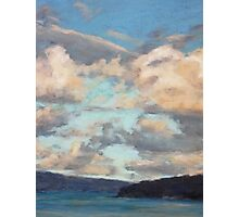 Pastel Clouds - Balmoral NSW Photographic Print