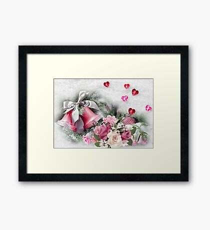 For the One I Love at Christmas  Framed Print