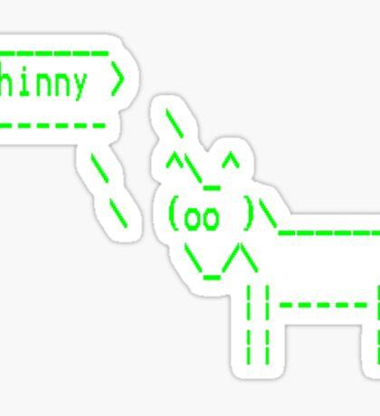 Unicornsay Whinny Sticker