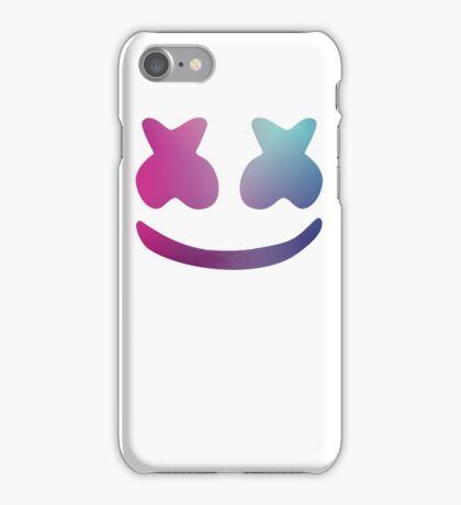 Marshmello Blue Violet iPhone Case/Skin