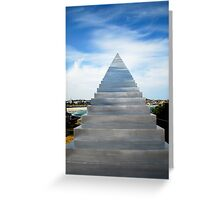 Diminish and Ascend Greeting Card