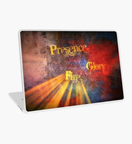 PRESENCE, GLORY, FIRE Laptop Skin