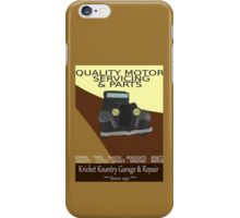 KRICKET KOUNTRY Garage & Repair....Since 1951! iPhone Case/Skin