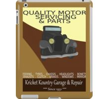 KRICKET KOUNTRY Garage & Repair....Since 1951! iPad Case/Skin