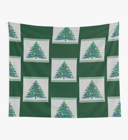 Christmas pullover Wall Tapestry