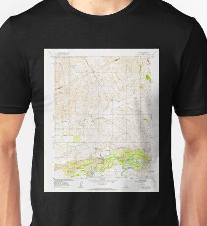 USGS TOPO Map California CA Snelling 300557 1962 24000 geo Unisex T-Shirt