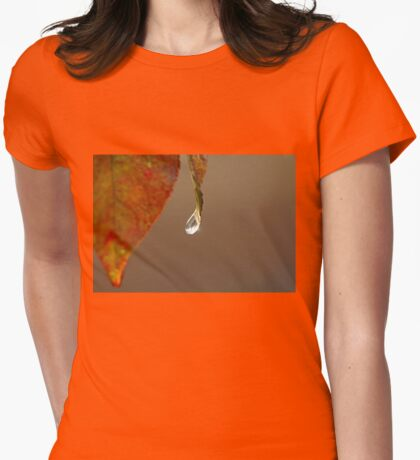 Last Drop Womens Fitted T-Shirt
