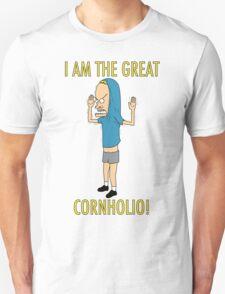 CORNHOLIO! Unisex T-Shirt