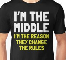 I Am The Middle In My Family Unisex T-Shirt