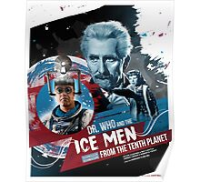 Dr. Who - The Ice Men from the Tenth Planet - Movie Poster Artwork Poster