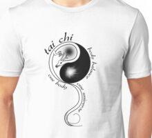 Tai Chi Body Balance for white shirts Unisex T-Shirt