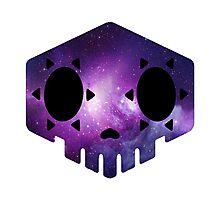 Galaxy Sombra Sugar Skull Photographic Print