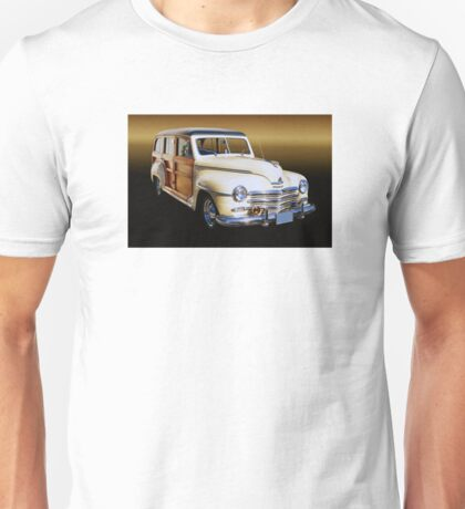 1949 Plymouth Woodie Wagon Unisex T-Shirt