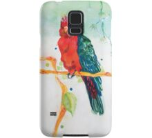 The Parrot King Samsung Galaxy Case/Skin