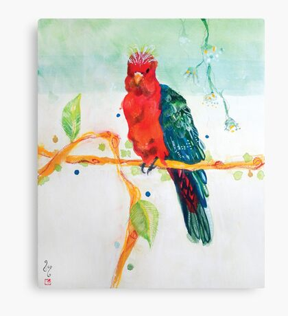 The Parrot King Canvas Print
