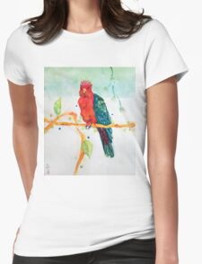 The Parrot King Womens Fitted T-Shirt