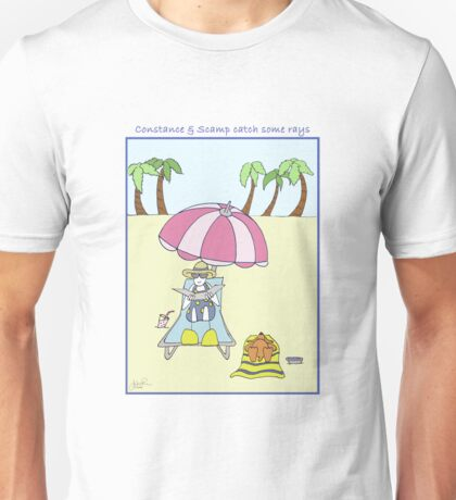 Constance & Scamp Catch Some Rays Unisex T-Shirt