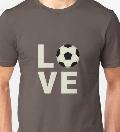 Love Soccer Unisex T-Shirt