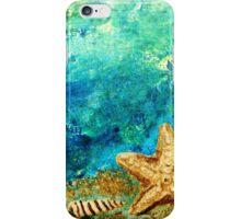Sea star and nautilus iPhone Case/Skin