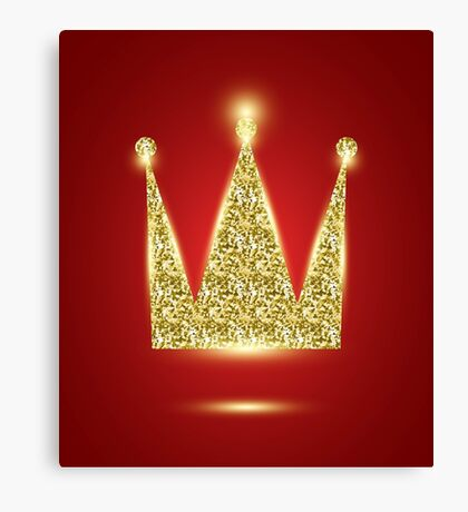 Red Crown Canvas Print