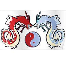 ying-yang-a-dos Poster