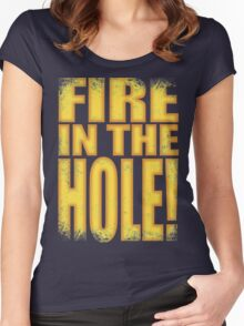Junkrat - Fire in the HOLE! Women's Fitted Scoop T-Shirt