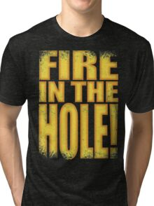 Junkrat - Fire in the HOLE! Tri-blend T-Shirt