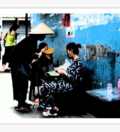 Ho Chi Minh City. Backstreet Life Sticker