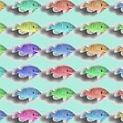 Swimming Fishies by Susan S. Kline