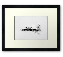 The Workshop, Bangate Framed Print