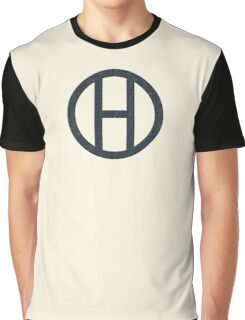 Hipster Black Graphic T-Shirt